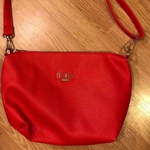 BCBG Red Handbag